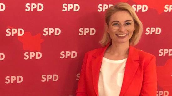Foto: Bundestagskandidatin Peggy Schierenberg
